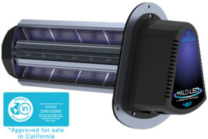 UV Light Halo LED Ozone Free